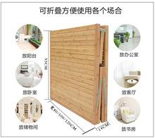 竹床折叠床午休床家用1米单人1.2米双人板式床成人简易午睡床
