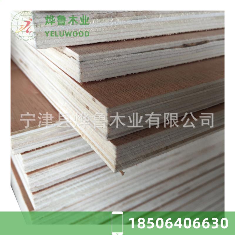 厂家零售 杨木多层胶合板 多层板包装板 宁夏吴忠