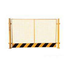 郑州基坑护栏工地围挡铁马临边防护栏杆施工防护网临时铁网围栏