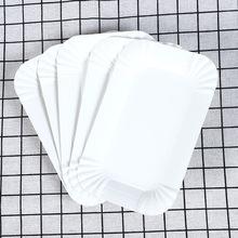 长方形圆形纸盘生日蛋糕纸盘一次性纸碟生日纸盘甜品餐具厂家直销