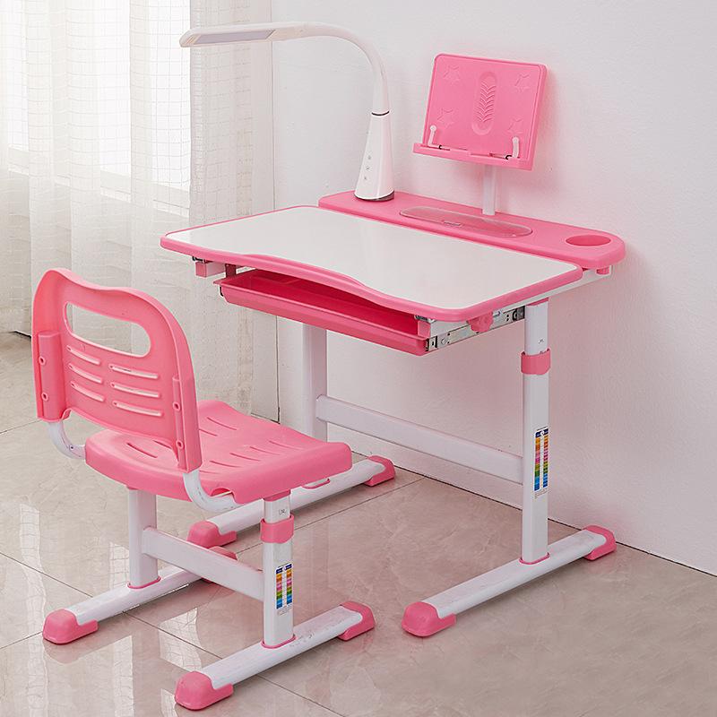 豪华儿童学习桌椅批发升降写字桌套装学生家用课桌椅培训班课桌椅-