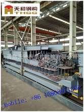 外貿加工出口配套Q235Q345鍍鋅噴塑的鋼梁天和公司制作