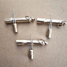 批发小号子线打结器金属弯钩钓鱼鱼线打结器手动挑针渔具配件