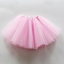 欧美儿童半身蓬蓬裙 芭蕾舞pettiskirt裙 女童糖果色tutu裙批发
