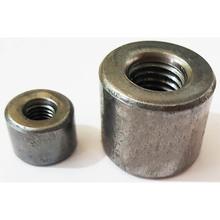M6圆螺母 圆形圆柱烧焊接管加长厚高薄型螺帽 各种现货尺寸