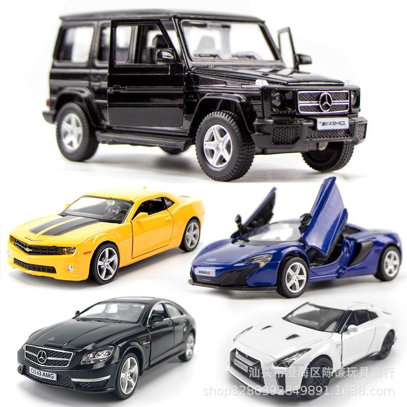 奔馳g63 車模型仿真合金路虎車模金屬玩具車汽車擺件蛋糕烘焙裝飾