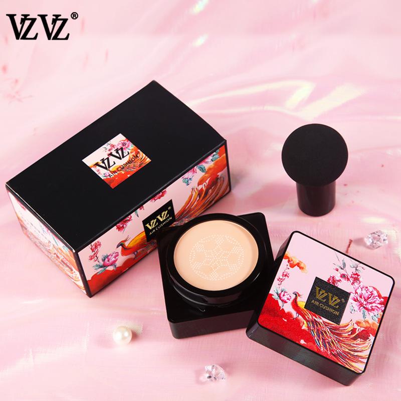 VZVZ网红小蘑菇头气垫bb霜遮瑕隔离cc霜粉底液直播爆款彩妆工厂