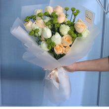 海口三亚琼海全国同城桔梗订5201母亲节生日礼物绣球鲜花速递混搭