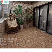 欧式仿古木纹外墙阳台墙砖600*600室外防滑院子商场客厅地砖庭院