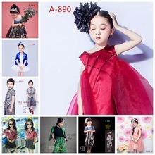 展会新款儿童摄影服装男孩女孩3-4-6岁拍?#25214;?#26381;影楼主题写真童装