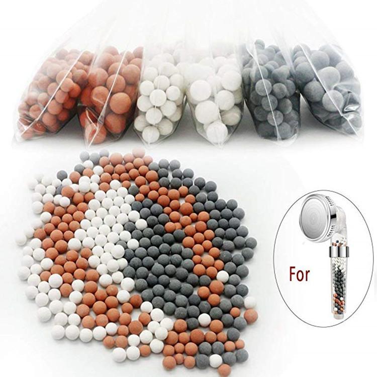 洗澡花洒能量球 负离子陶瓷球 一个月换一次 花洒过滤滤芯能量球