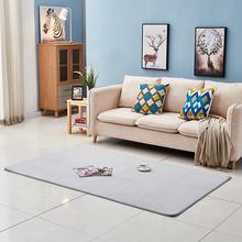 純色地墊門墊進門加厚珊瑚絨地毯吸水臥室浴室可機洗地毯衛浴地毯