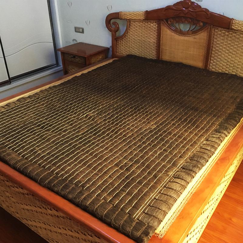 良顺 手工缝制天然全山棕床垫棕垫 儿童护脊棕垫薄粽床垫子可卷折