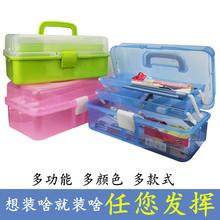 塑料透明水粉画笔盒水彩笔盒油画笔笔盒铅笔盒收纳盒颜料工具箱子