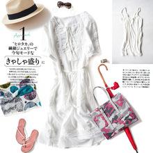 外貿原單女裝日系日本出口精品專柜女士新款日韓連衣裙A1054