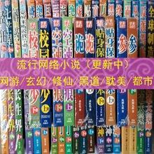 包邮小说青春小说耽美小说玄幻修仙小说都市小说销售地摊货