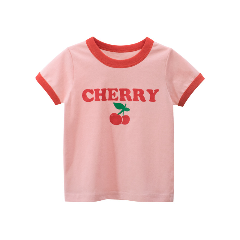 27home韓版童裝2020夏季 女童短袖T恤 兒童服裝廠家直銷一件代發