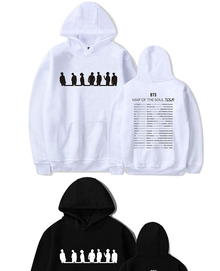 Map of the Soul Tour Hoodie