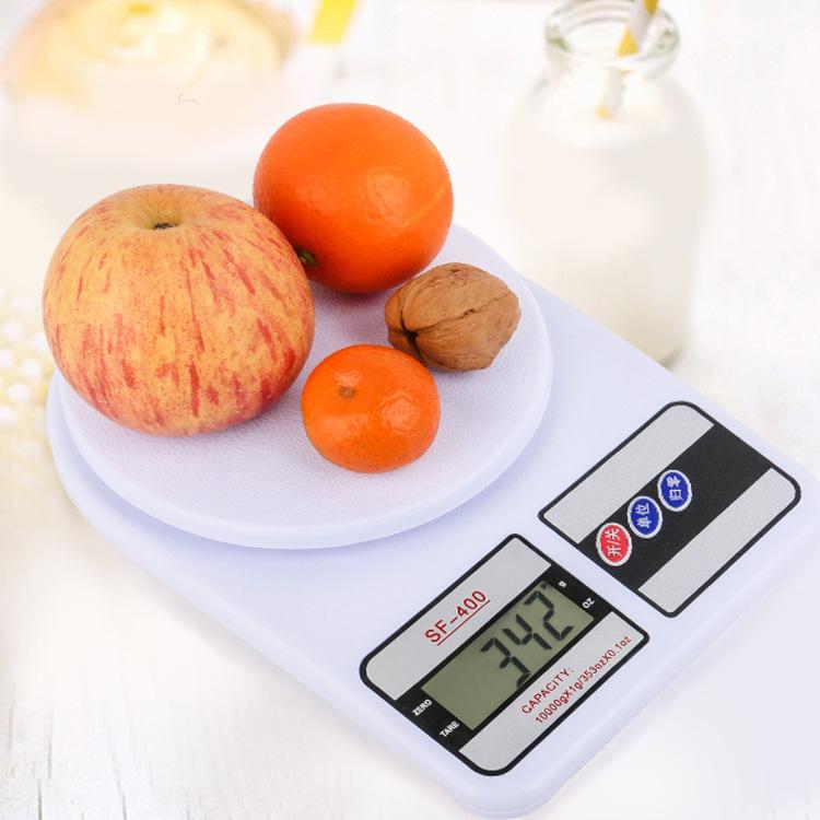 SF400厨房秤厂家批发小型家用食品烘焙秤药材茶叶克称10kg电子秤