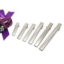 金屬發夾 長方形鴨嘴夾 頭飾配件 多種規格 diy材料批發