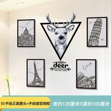 大学生贴纸墙励志卧室墙壁贴画自粘墙纸壁纸男生宿舍墙面装饰海报