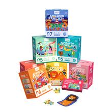 mideer彌鹿拼圖拼板大塊進階式教育早教啟蒙益智邏輯思維兒童玩具