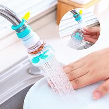 水龍頭旋轉瀝水器可延伸麥飯石過濾花灑家用廚房防濺水濾水凈水器