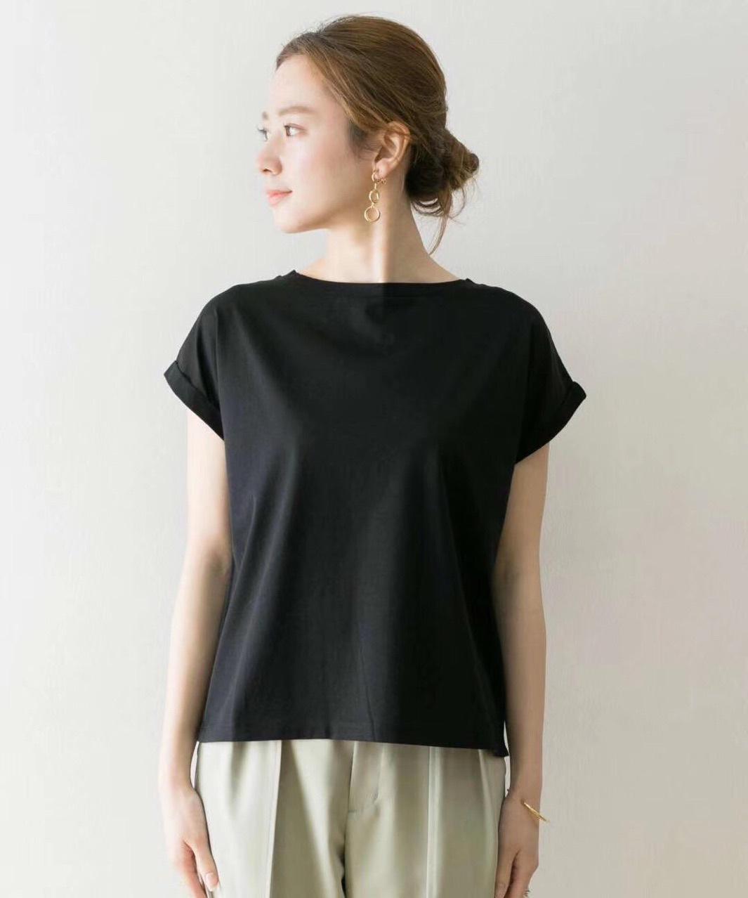 UR原 新款短袖T恤上衣 日本剛剛出貨 官網預約款 簡約大百搭純棉