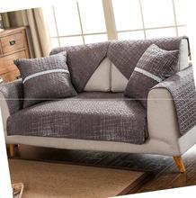 厂家批发转角米色韩版大方麻棉夏日贵妃椅订制新婚整套沙发垫四季