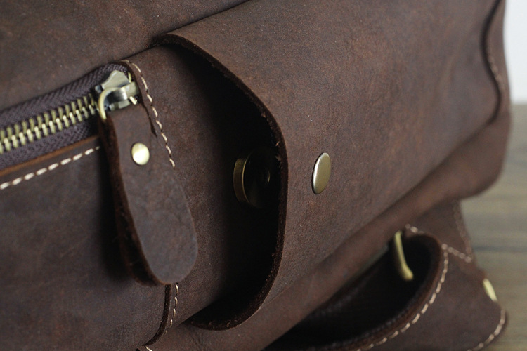 Men 100% Genuine Leather Laptop Backpacks Male Vintage Casual Backpacks Men's Travel Holder 14inch 15.6inch Computer School Bags 29