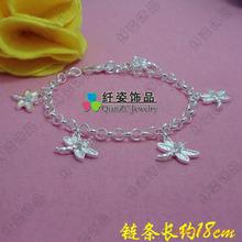 時尚韓版手飾批發 女士亮麗飾品禮物鑲鉆五蜻蜓手鏈H2168