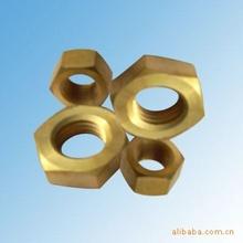 专业承接铜螺母类加工,铜螺丝,铜套欢迎下订单
