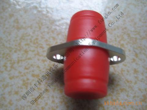 FC/UPC菱形光纤适配器 菱形光纤适配器 铜外壳 菱形