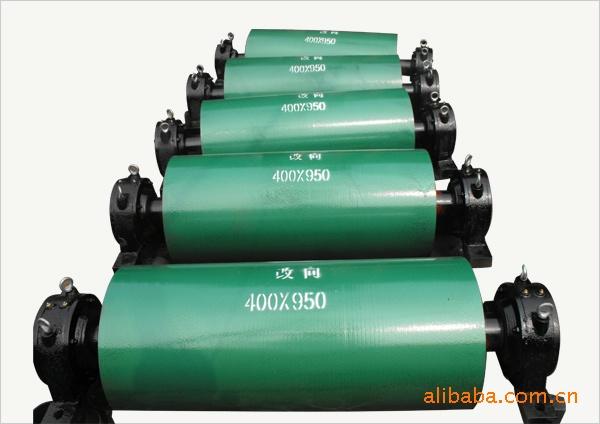 生产各类滚筒 磁性滚筒 磁力滚筒 传动滚筒 改向滚筒 包胶滚筒