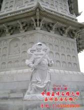 石雕四大天王,罗汉佛像,天王佛像雕刻,门神雕刻,文臣武官雕刻