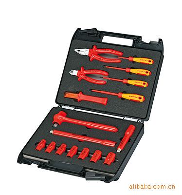 供应 德国 凯尼派克 KNIPEX 17件 电工绝缘工具 98 99 11