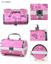 圆柱形化妆箱 紫色飞蝶珠宝箱首饰盒 专业化妆箱厂家批发