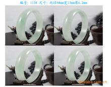 廠家玉器批發 特價天然老坑A級冰糯種水潤白底緬甸玉翡翠手鐲玉