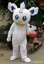 【冬天雪白小绵羊】企业吉祥物/卡通人偶量身定做/小白羊演出服