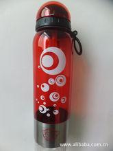厂家供应礼品运动水壶,吸管水壶,吸管杯