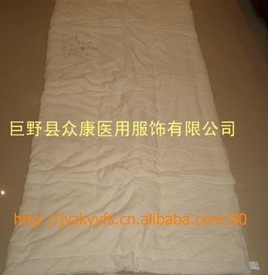 巨野眾康牌外棉稀布和棉布內膽三級和四級棉絮褥子、墊胎