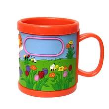 蓝天白云马克杯,海豚马克杯,可订做各种logopvc马克杯