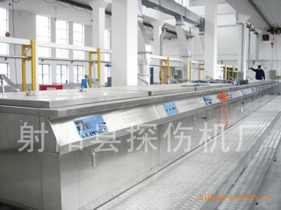 专业生产不锈钢超声波HLST-1400荧光渗透检测线