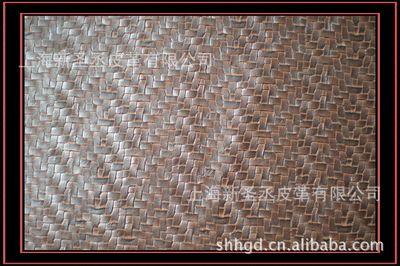 供应上海装饰PVC人造革,各种规格编织PVC人造革 编织纹路人造革