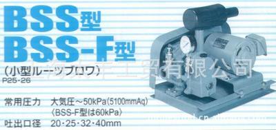 现货供应日本ANLET原装进口罗茨鼓风机低噪音真空泵BSS20横流风机