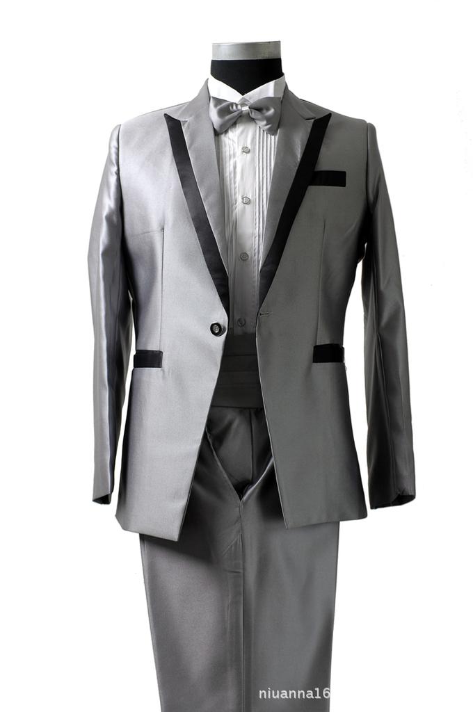 礼缘服饰 新款男士礼服 新郎礼服 西装套装 精品男装N-001
