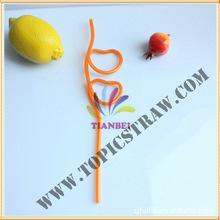 廠家生產造型吸管  食品級環保促銷禮品產品 高透吸管