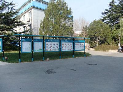 不锈钢宣传栏维修、北京宣传栏维修、小区玻璃橱窗维修、通知栏