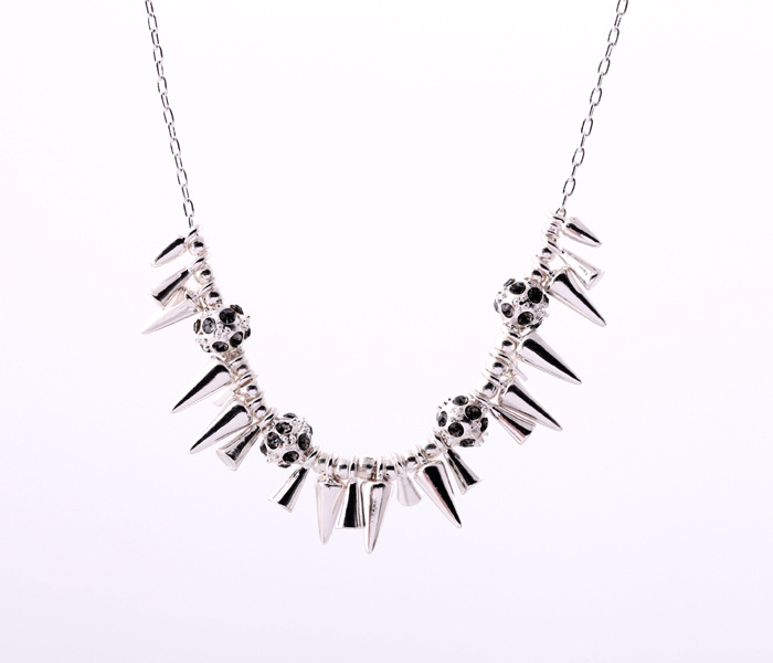 Occident and the United States alloy plating necklace Alloy short section  NHQD3814Alloy short section