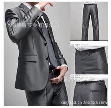 上海厂家专业量身定做男式西服套装 定制?#20449;?#38889;版西装批发职业装